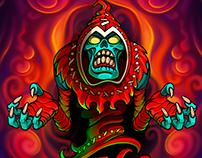 Monstergotchi. Intro. Spine animation.
