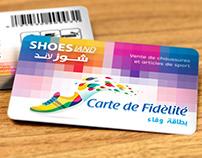"Shoes LAND ""Moknine"" - PVC Fidelity Card"