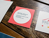 Big Top Catering Stationery