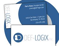 Def-Logix inc. - business card