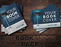 NEW Book Cover Mock-Up Pack