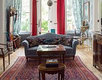 """Büyükada'da ev"" Interior for magazine"