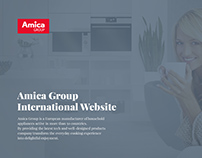 Amica Group International Website