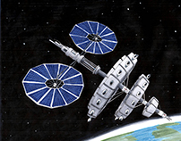 SpaceEx Low Earth Orbit Hotel