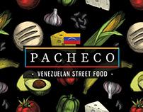 Pacheco Venezuelan Street Food (Brand Identity)