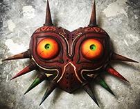 Majora's Mask - 3D Printed Legend of Zelda Mask