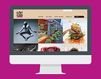 Hubba Hubba / Restaurant website