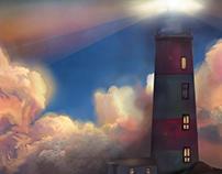 Light House- Digital Painting