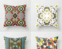 Surface Pattern Design for Pillows