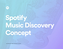 Music Discovery Concept