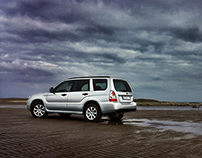 Forester or Fisherman / automotive photography
