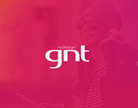 Redesign site GNT