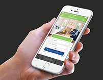 iPhone App Design, Web Design, UI/UX for Kleanapp