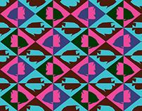 Tropical Fish print design