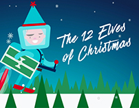 The 12 Elves of Christmas Animation