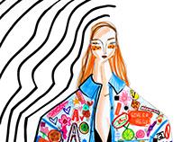 fashion illustrations - an assortment