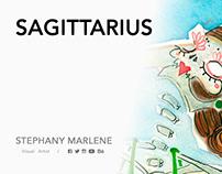 SAGITTARIUS · Miss Catrina 13 Zodiac Signs Collection