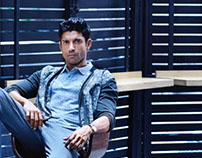 Exhibit Magazine cover story with Farhan Akhtar