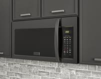Black Over the Range Microwave Oven for ZLINE
