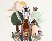 Cervesa ELS REIXOS - Melcior poster