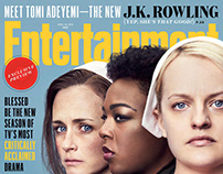 The Handmaid's Tale cast for Entertainment Weekly cover