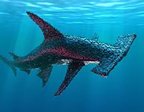 Artificial Life 1.0. Oceans - Hammerhead Shark