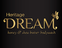 Dream | Heritage | Honey and shea butter bodywash | UI