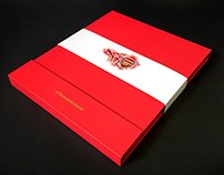 Arsenal 2015-16 Home Kit launch packaging