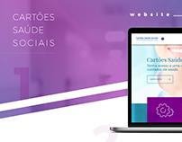 Cartões de Saúde Sociais - Website
