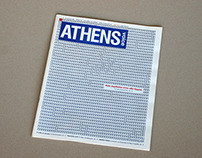 ATHENS VOICE COVER / PRINT