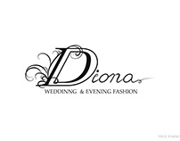 Logo design for salon of wedding dresses in Kiev
