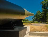 Hartshorne WW II Gun Battery