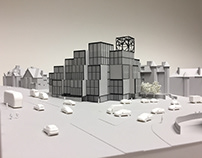 Architectural Model - Tower Station - Neubau Architects