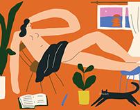 October Illustrations