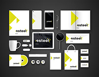 Logo design for Esteel