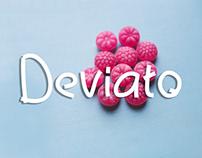 Deviato - Free monoline font