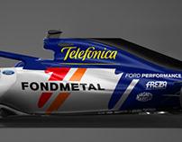 Minardi Alonso Tribute 2018 F1
