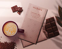 Chocolate Package Mockup Template