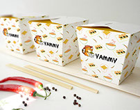 "Branding for food delivery franchise ""Yammy"""