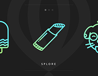 Splore | Icons & Animations