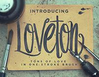 Loveton Typeface