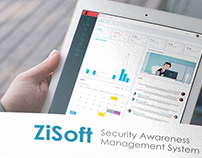 ZiSoft Brochure and website design