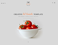 Lal Tomato | One Page Multi-purpose Template
