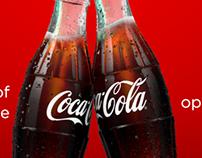 Coca Cola anniversary