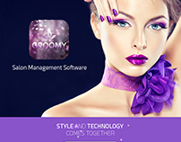 GROOMY - SALON MANAGEMENT SOFTWARE