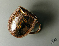 Copper Rendering - 3D drawing