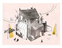 CRAZY CAT HOUSE