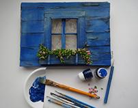 Miniature Window Bu Gül ipek .İstanbul