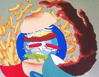 Mural Koperasi Karyawan Pertamina Lahendong