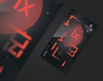 """""""玻璃心"""" Font and Graphic design"""